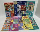 Hot Off the Press DISNEY Mickey Mouse World Land Die Cuts Tags Stickers Lot of 8