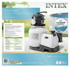 Intex 2100 GPH Sand Filter Pump For Above Ground Pools With Automatic Timer