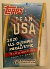 Topps Team USA 2020 2021 Olympic and Paralympic Cards Blaster Box - Auto?🔥
