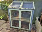 Wooden cold frame greenhouse