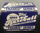 1988 TOPPS TRADED & ROOKIE COMPLETE SET Alomar RC Grace RC