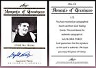 2011 LEAF LEGENDS SPORT MOMENTS GREATNESS AUTOGRAPHS GOLD GAYLORD PERRY MG14 # 5