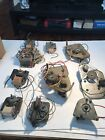 Lot of 10 Vintage Phonograph Motors For Parts or Restore