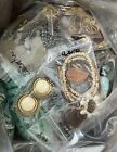 8lb Huge Jewelry 220++ Mixed Lot Vintage Now All Wear Some Signed