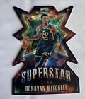 2018 19 Optic Contenders Donovan Mitchell Cracked Ice Red Superstar Die Cut