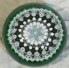 MURANO ART GLASS PAPERWIEGHT SIGNED 3 89 LARGE