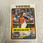 Chris Young Baseball Cards: Rookie Cards Checklist and Buying Guide 22