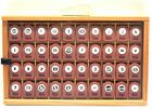 Family Treasures 40 Alphabet  Punctuation Punch Set With Wooden Case
