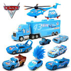 McQueen Disney Pixar Cars Lot Dinoco Series King Helicopter 155 Diecast Toy Car