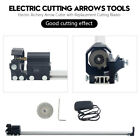 Electric Archery Arrow Cutter Tool w Replacement Cutting Blades 100 240V US Plug