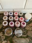 Soft Magic Flower Dust Snow Dust Craft Sprinkles Pots 15 Pots Some NEW