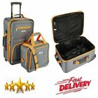 2 Piece Wheeled Luggage Set Rolling Suitcase Tote Carry On Bag Travel Flight