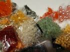 LOT OF JEWELRY BEADS MIXED COLORS AND STYLES BEADS ONLY 400 BAGS TOTAL