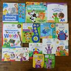 Lot 14 Baby Einstein Baby Board Books Early Learning Play a Sound Interactive