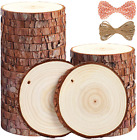 5ARTH Natural Wood Slices 30 Pcs 35 4 inches Craft Unfinished Wood kit Predri