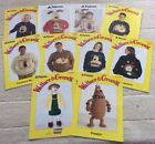 Wallace and Gromit Knitting Patterns 10 Men Women Child Baby