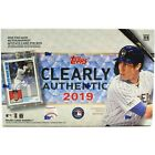2019 Topps Clearly Authentic Factory Sealed Hobby Baseball Box