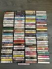 Cassette Tapes lot of 120 Tapes All Kinds Of Music