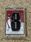 Lebron James By The Number Patch Auto #68 75 SP Authentic 2007 08