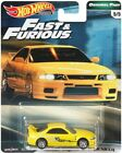 2017 Hot Wheels Fast and Furious Original Fast Nissan Skyline GT R BNCR33 YELLOW