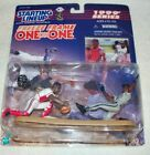 Hasbro c.1999 Starting Lineup One on One. Alomar and Griffey Jr. figure w/ card