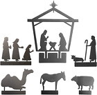 Nativity Set for Christmas  Indoor Scene for Rustic + Modern Decorations Meta