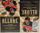 2020 21 Upper Deck ALLURE Hockey 20ct 6 cards pk Factory Sealed Retail Box