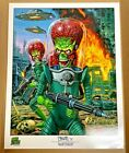 2015 Topps Mars Attacks: Occupation Trading Cards 30