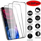Wholesale Lot For iPhone 13 Pro Max 13 12 11 XR Tempered Glass Screen Protector