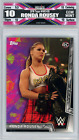 Here's a $10,000 Ronda Rousey Autograph from 2012 Topps Finest You May Never See Again 17