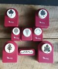LOT OF 8 Emagination Paper Punch Set Scrapbook Leaves Fall Autumn Heart C PICS