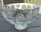 Waterford Crystal Wedding Heirloom Collection 6 Round Footed Bowl