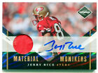 JERRY RICE 2010 Panini Leaf Limited Auto Game Used Jersey Patch Card HOF SP 2 10