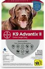 K9 Advantix II for Extra Large Dogs Over 55 lbs 6 Pack US EPA Approved