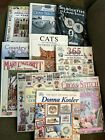 Lot of 10 Cross Stitch Books Many Different Patterns Styles Themes Designers