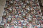 Susan Winget Fabric 1993 1870 Country Animals Bless this House 4 yards + 6