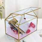 Glass Wedding Card Box Glass Gift Boxes Terrarium Card Holder Perfect for Cent