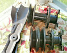 Lot of Blades Left  Center Quill Spindle Lawn Mower Part Dynamark Murray Noma