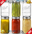 6 Pack 1 Gallon Glass Jars with Lids Food Storage Jars with Airtight Lids Leak
