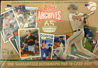2016 Topps Archives 65th Anniversary Edition Factory Sealed Box-GUARANTEED AUTO