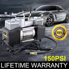 12V 150 PSI Double Cylinder Air Compressor Pump High Power Car Tire Inflator NEW