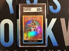 2020-21 Panini Hoops Dennis Rodman Legends of the Ball Holo Silver Foil SGC 10