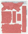 Stampers Anonymous Tim Holtz Cling Rubber Documented Stamp Set 7 x 85