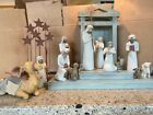 DEMDACO Willow Tree Nativity 15 pc Set PERFECT CONDITION w Packaging and CRECHE