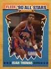 Isiah Thomas Rookie Cards Guide and Checklist 8