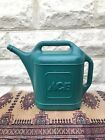 Vintage ACE Hardware Watering Can Large Green Plastic Blow Mold