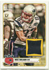 Wes Welker Cards and Autographed Memorabilia Guide 8