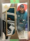 2019-20 SP Game Used Erik Karlsson Supreme Patches 15 Upper Deck PATCH 🔥