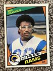 Eric Dickerson Cards, Rookie Card and Autographed Memorabilia Guide 14