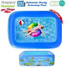 Inflatable Large Family Swimming Pool Outdoor Garden Adult Kids Paddling Pool